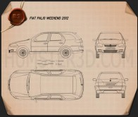 Fiat Palio Weekend 2012 Blueprint