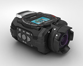 3D model of Ricoh WG-M1 Black