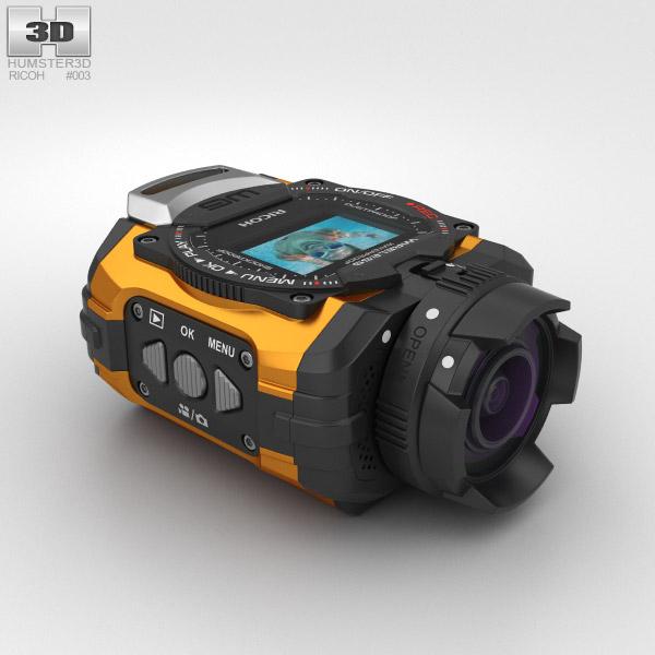 3D model of Ricoh WG-M1 Orange