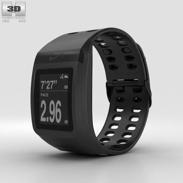 3D model of Nike+ SportWatch GPS Black