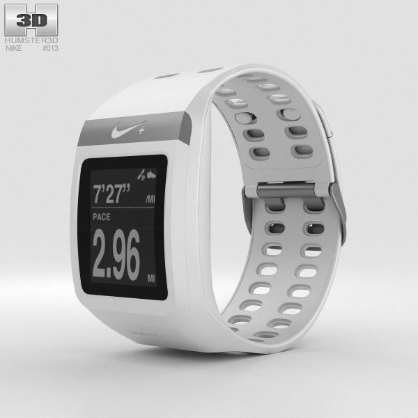 3D model of Nike+ SportWatch GPS White