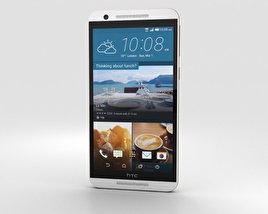 HTC One E9s Dual Sim White Luxury 3D model