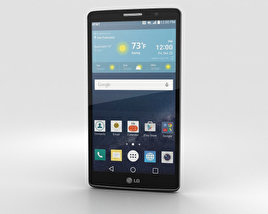 LG G Vista 2 Metallic Black 3D model