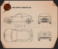 Mini Cooper S roadster 2013 Blueprint