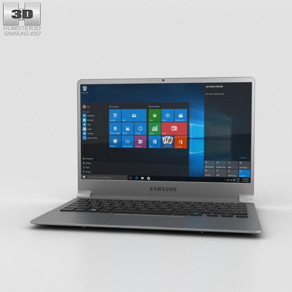Samsung Notebook 9 Iron Silver 3D model