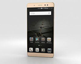 3D model of ZTE Axon Max Gold