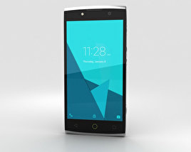 Alcatel Flash 2 Volcanic Grey 3D model