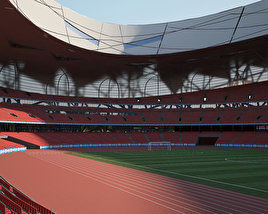 3D model of Beijing National Stadium