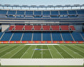 Gillette Stadium 3d model