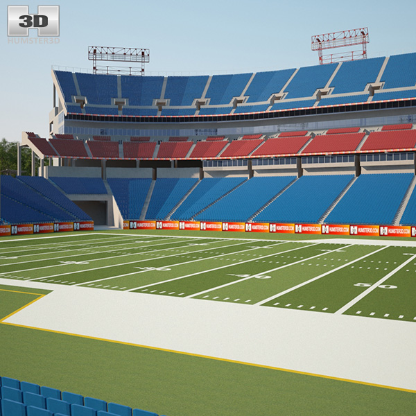 Nissan Stadium 3D model
