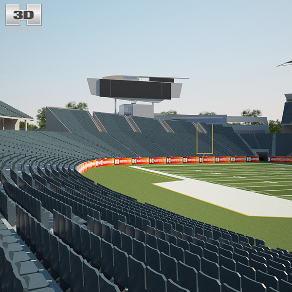 Paul Brown Stadium 3D model