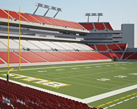 3D model of Raymond James Stadium