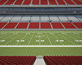 Raymond James Stadium 3d model