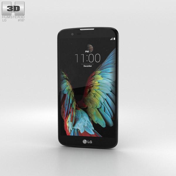 3D model of LG K10 Indigo