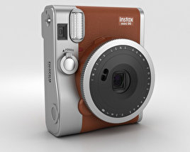 3D model of Fujifilm Instax Mini 90 Brown