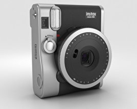 3D model of Fujifilm Instax Mini 90 Neo Classic Black