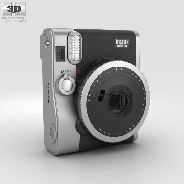 Fujifilm Instax Mini 90 Neo Classic Black 3D model