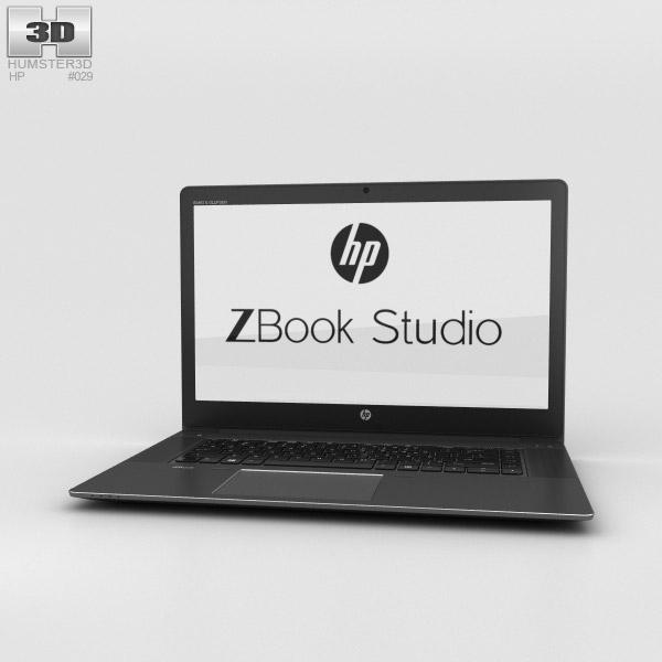 HP Zbook Studio 3D model