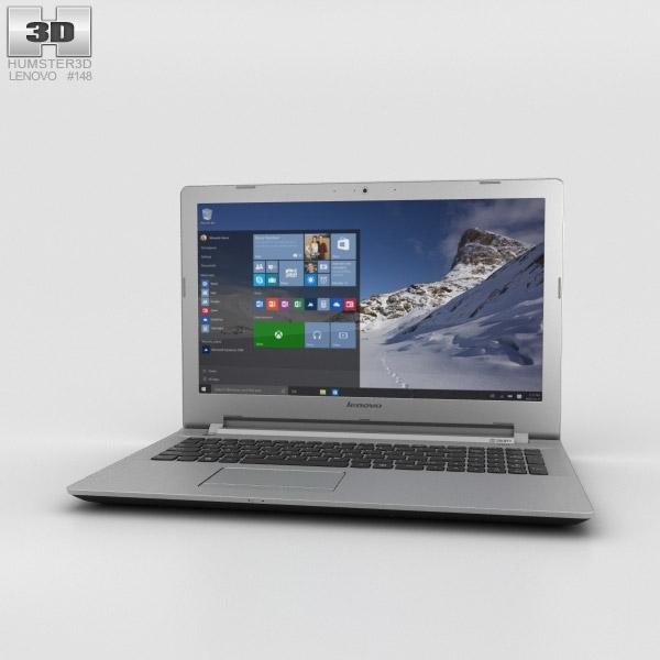 Lenovo IdeaPad 500 Black 3D model