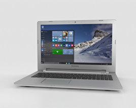 3D model of Lenovo IdeaPad 500 White