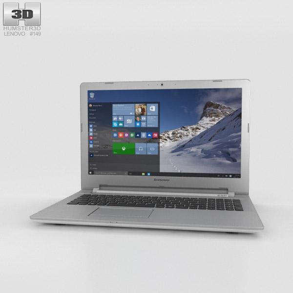 Lenovo IdeaPad 500 White 3D model