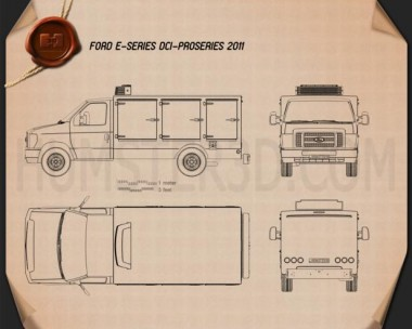Ford E-Series DCI Pro 2011 Blueprint