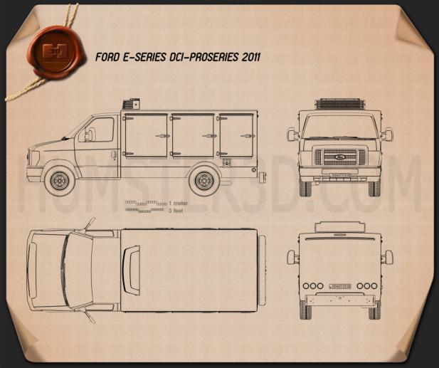 Ford E-Series DCI Pro 2011 Blueprint