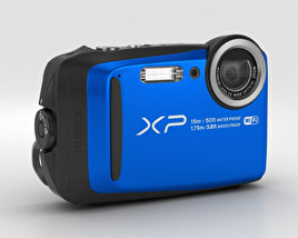 Fujifilm FinePix XP90 Blue 3D model