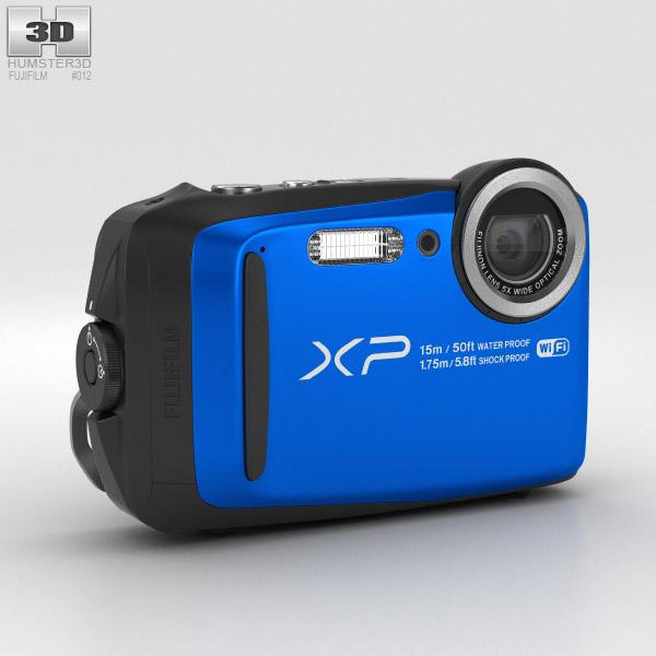 3D model of Fujifilm FinePix XP90 Blue