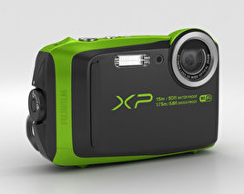 3D model of Fujifilm FinePix XP90 Lime