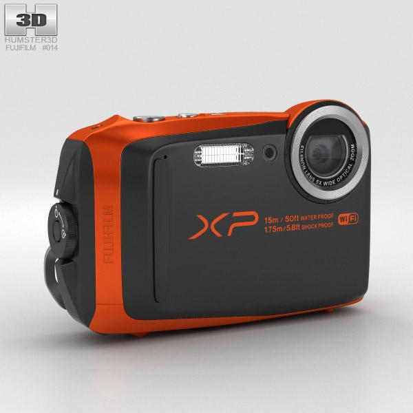 3D model of Fujifilm FinePix XP90 Orange