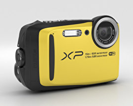 3D model of Fujifilm FinePix XP90 Yellow