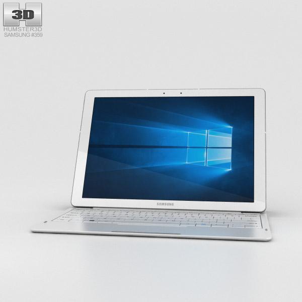 Samsung Galaxy TabPro S White 3D model