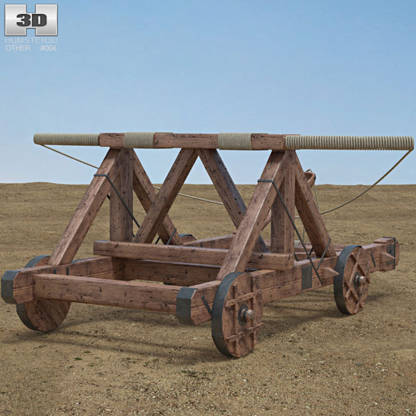 3D model of Catapult