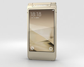 3D model of Samsung W2016 Gold