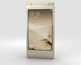 Samsung W2016 Gold 3D-Modell