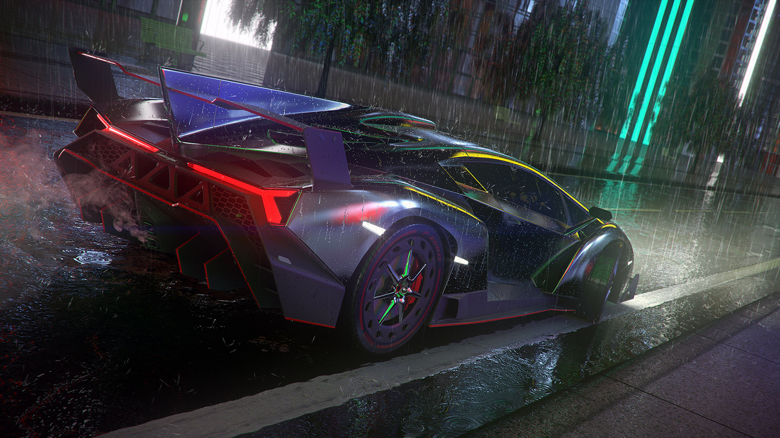 Lamborghini Veneno final render