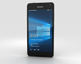 3D model of Microsoft Lumia 650 Black