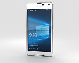 3D model of Microsoft Lumia 650 White