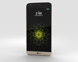 3D model of LG G5 Gold