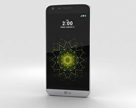 3D model of LG G5 Silver