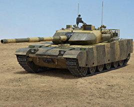 3D model of VT-4 (MBT-3000)