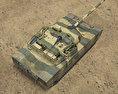 VT-4 (MBT-3000) 3d model