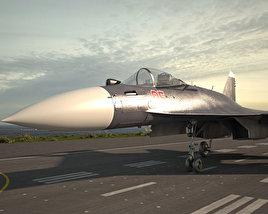 3D model of Sukhoi Su-35