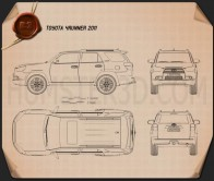 Toyota 4Runner 2011 Blueprint