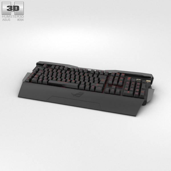 Asus ROG GK2000 Keyboard 3D model