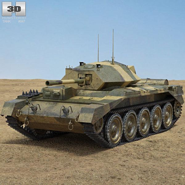 Crusader Tank Mk III 3D model