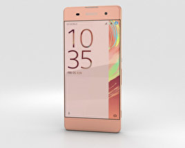 3D model of Sony Xperia XA Rose Gold