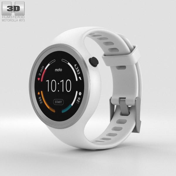 Motorola Moto 360 Sport White 3D model