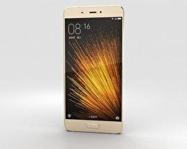 3D model of Xiaomi Mi 5 Gold